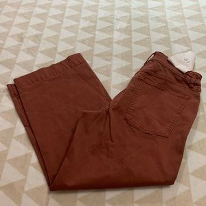 Warp & weft incheon crop wide leg pants ICN